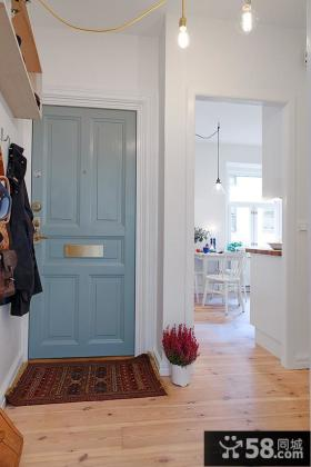 北欧小户型进门玄关装修效果图片