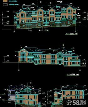 农村自建二层别墅图纸设计