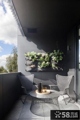 家居装饰阳台