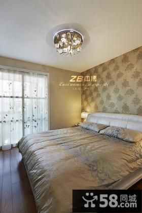 现代风格卧室壁纸效果图