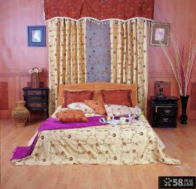 卧室窗帘布艺图片大全