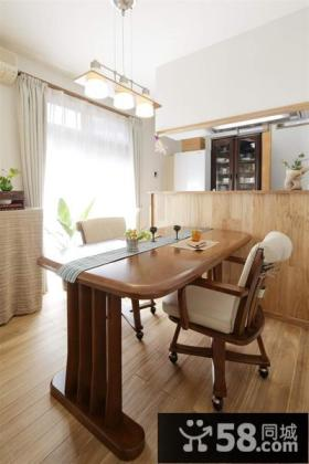 日式装修风格餐厅设计效果图