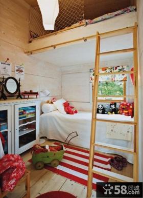 两室一厅简约风格儿童房装修效果图