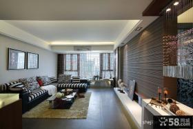 中式现代客厅装修效果图大全2013图片