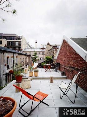 家庭设计露天阳台图片欣赏大全