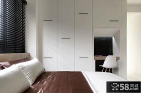 90㎡小户型简约大气的卧室装修效果图大全2014图片