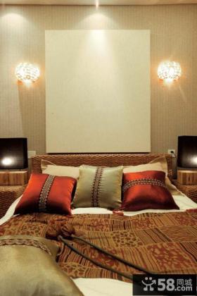 东南亚风格卧室床头灯具图片大全
