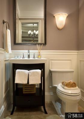 别墅小卫生间装修效果图 小面积卫生间装修效果图大全2012图片