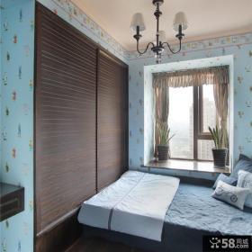 126平美式风格家居卧室设计效果图