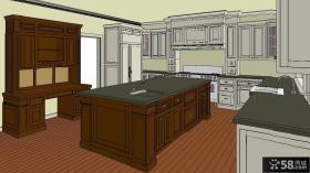 大厨房橱柜设计图纸