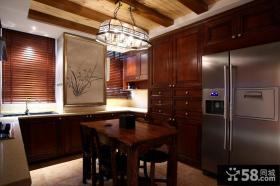 美欧风格厨房餐厅设计图片大全