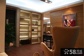 现代家居储物柜装修设计效果图