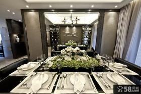 新古典风格豪华西餐厅设计
