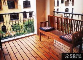 2013优质卧室阳台装修效果图片