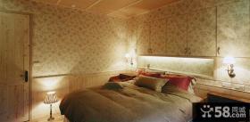 美式田园卧室装修图片