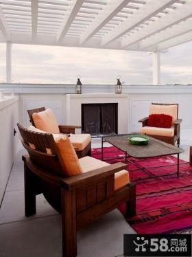 阳台家具展示设计