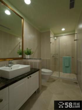 美式风格设计小卫生间图片大全