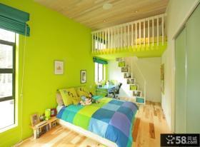 小复式现代卧室装修效果图