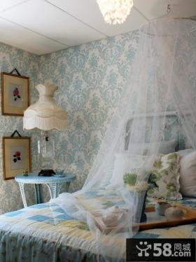 家居卧室液体壁纸装修效果图