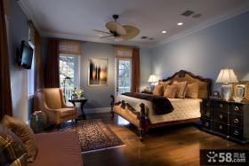美式风格卧室装修效果图大全2012图片 卧室吊顶装修效果图