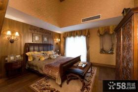 古典风格复式楼主卧室装修效果图欣赏
