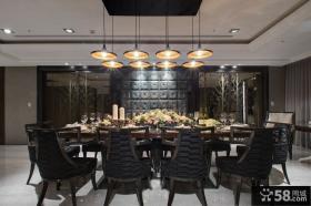 优质后现代家居大餐厅装修设计