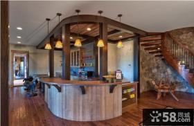 复式楼厨房灯饰设计效果图
