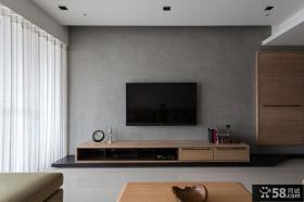 现代设计室内电视背景墙装饰效果图