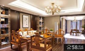 中式风格家装客厅设计图片欣赏