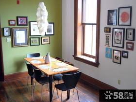 现代风格餐厅背景墙装修效果图大全2013图片