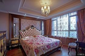 欧式风格卧室装修效果图片2015
