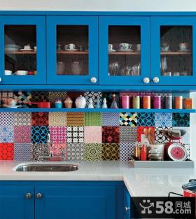 创意厨房整体橱柜效果图片