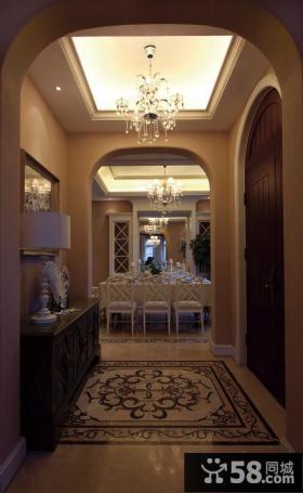 优质走廊玄关吊顶装修效果图片