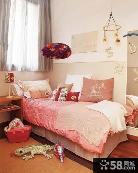 小户型女孩房间布置效果图欣赏