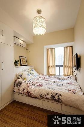 现代简约卧室飘窗设计图片