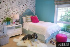 简约田园儿童房卧室装修效果图大全2012图片