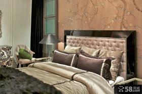 欧式风格别墅室内卧室装饰效果图片