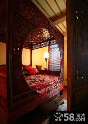 古典中式卧室设计案例