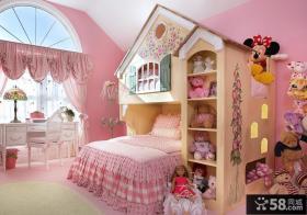 欧式卧室公主房装修效果图