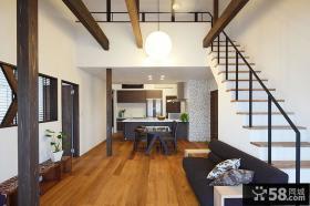 日式风格复式户型家装效果图大全