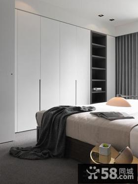 简约风格卧室组合大衣柜效果图