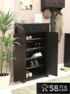家装鞋柜设计效果图