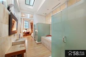豪华美式风格卫生间装修效果图