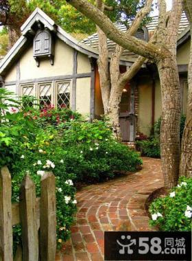 独栋别墅庭院景观设计