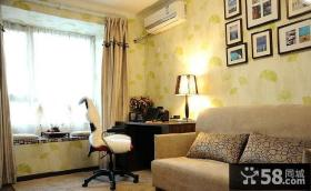 简约美式家居客厅飘窗设计