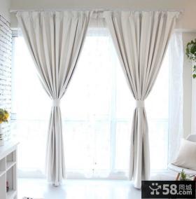 时尚简约风格阳台窗帘图片欣赏