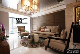 欧式装修风格别墅大客厅设计图片