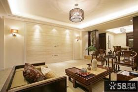 中式古典的客厅装修效果图大全2012图片