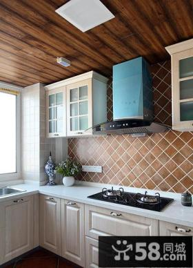 小阳台改厨房效果图欣赏
