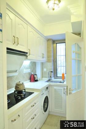 欧式厨房门效果图片